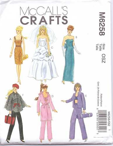 The 121 best My Barbie sewing patterns images on Pinterest | Barbie ...