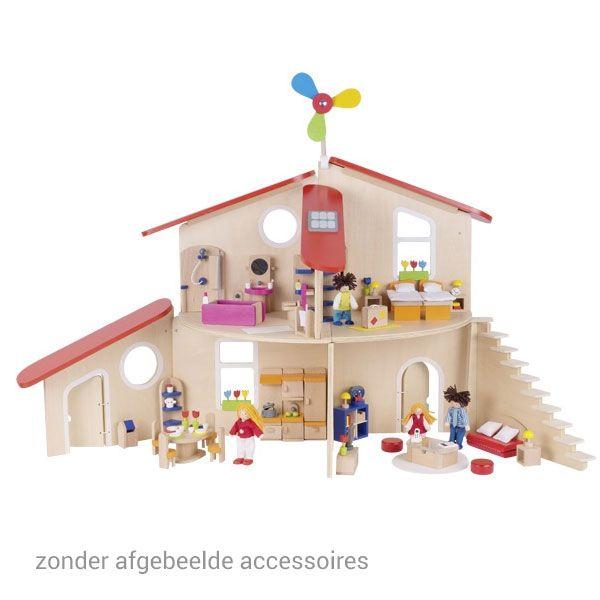 17 beste idee n over houten poppenhuis op pinterest for Poppenhuis voor peuters