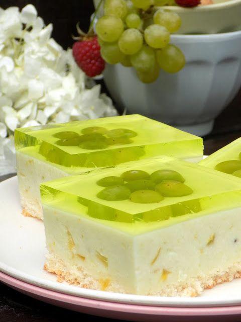 Domowa Cukierenka - Domowa Kuchnia: zielony sernik na zimno
