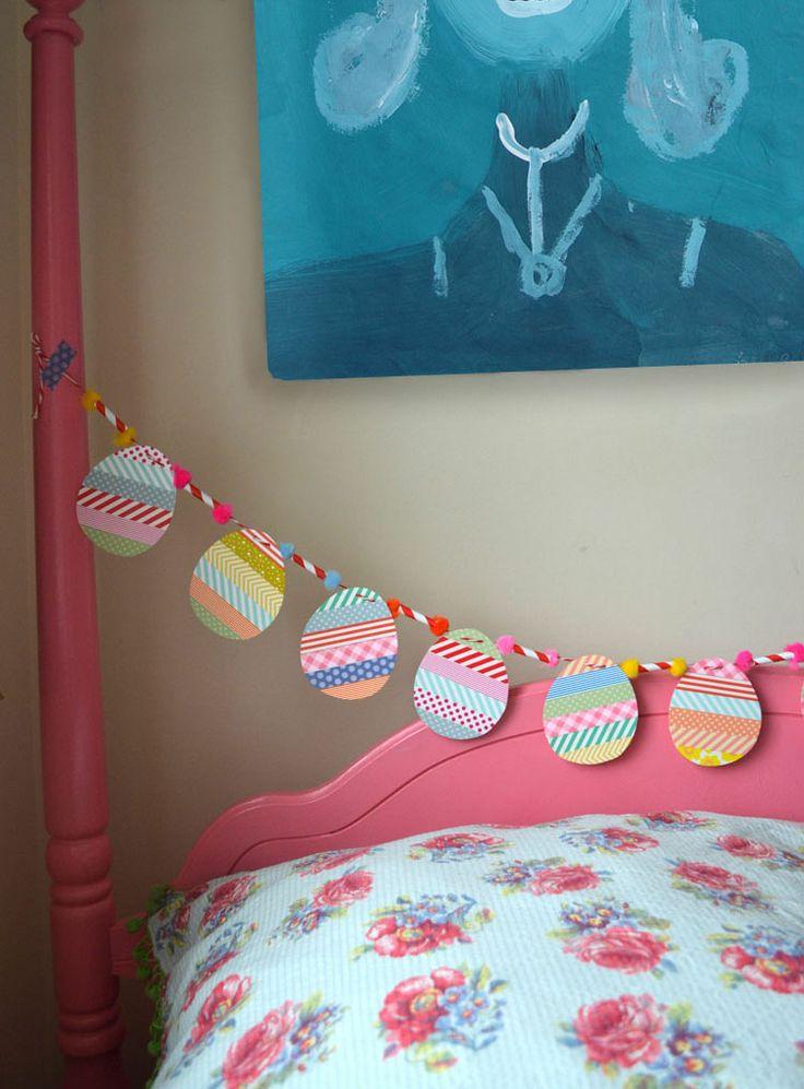 Egg Garland washi tape