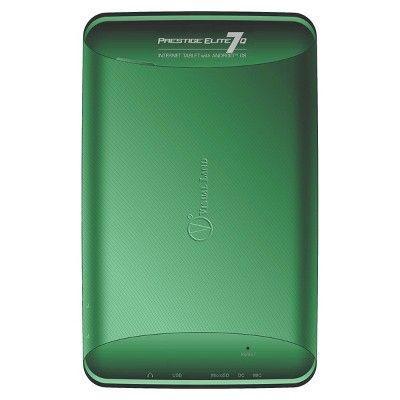 Prestige Elite 7Q 7 QuadCore 8GB KitKat 4.4 Android Tablet, Wifi, 2MP Camera, 1024x600 Touchscreen, Green