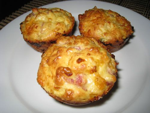Cottage Cheese and Egg Muffins with Ham and Cheddar Cheese Tried these and they turned out pretty good! Didn't have ham so left that out, would be good with veggies too -Melissa