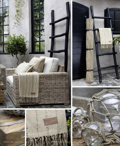 Outdoor entertaining inspiration, perfect oversized furniture.