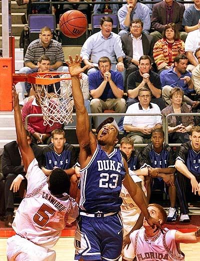 Chris Carrawell Duke Basketball The Players That Made