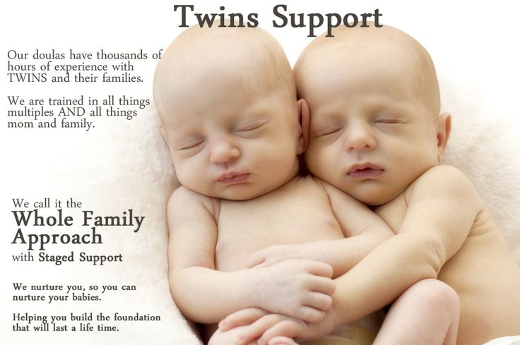 Our doulas have thousands of hours of experience with TWINS and their families. We are trained in all things multiples AND all things mom and family. We call it the Whole Family Approach.  We nurture you, so you can nurture your babies.   Helping you build the foundation that will last a life time.