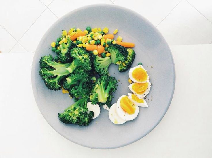 Broccoli eggs vegetable healthy