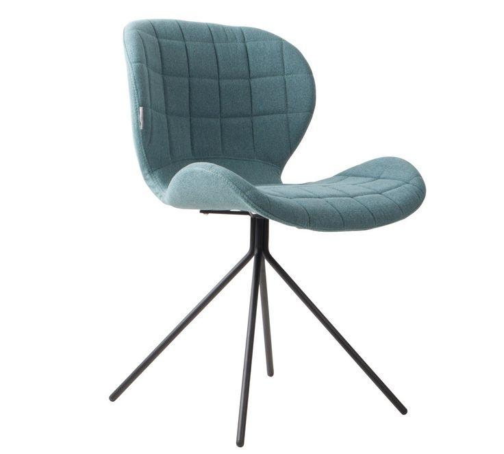 Zuiver :: Krzesło OMG niebieskie NIiebiesko-szary | MEBLE \ Krzesła MEBLE \ Domowe biuro WYBIERZ SWÓJ STYL \ Skandynawski | 9design Warszawa