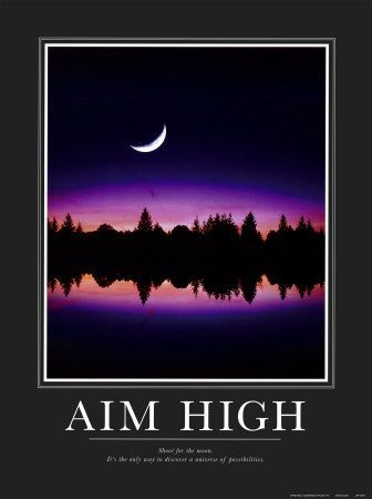 Keep Your Teen Inspired With These Motivational Posters: Aim High
