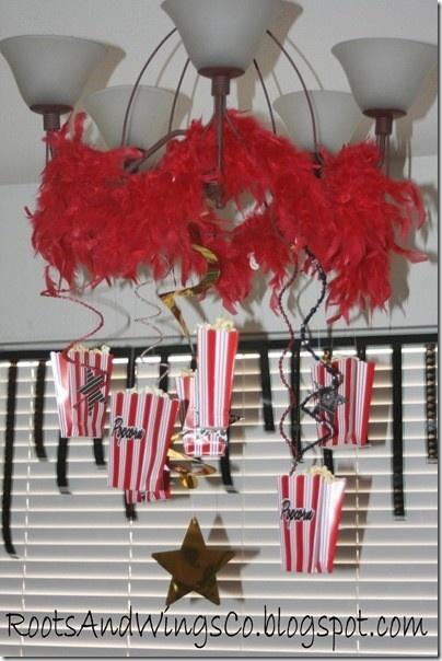 Movie Star Themed Party #party #movie by sadie