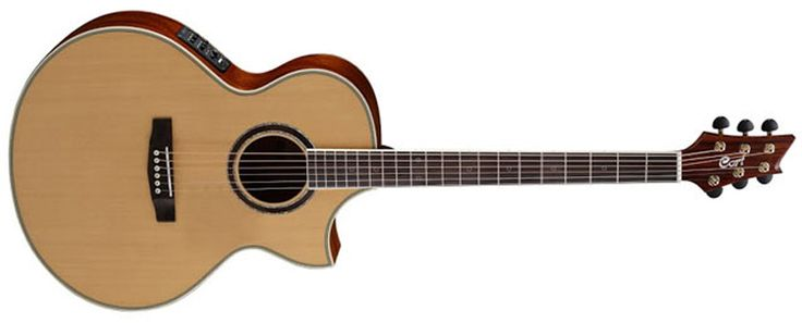 Cort Guitars Introduces NDX Baritone Acoustic-Electric | DEMO