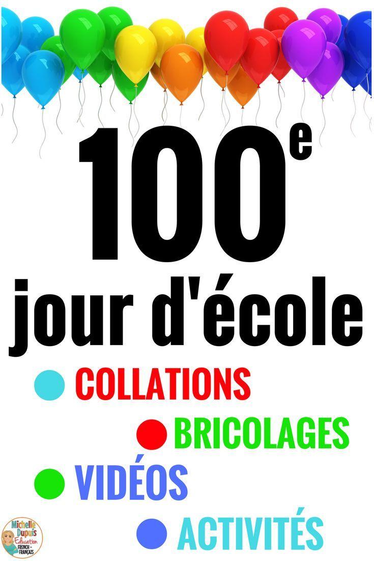 Le 100e jour d'école est un moment spécial qui mérite d'être souligné en grand. Cette publication vous offre une variété d'idées et d'activités.