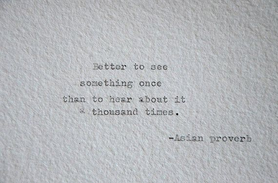 Asian proverb, travel quote, handmade paper, Handtyped on typewriter, wanderlust