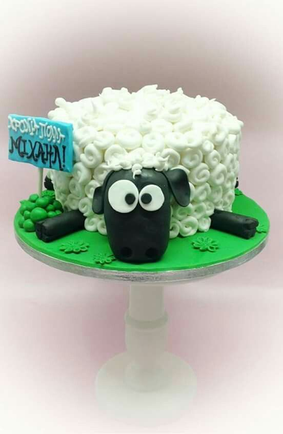 Sheep Cake #ShaunTheSheep                                                                                                                                                      More