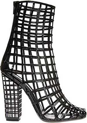 trendin boots designer | Yves Saint Laurent cage boots, £905, Browns