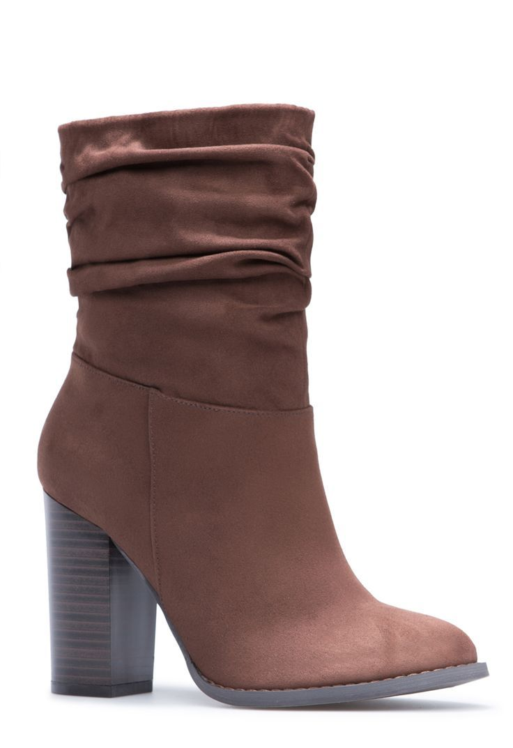 The slouchy boot makes a comeback every year. This chunky-heeled version offers just a subtle hint of the Western trend to your ensembles. (affiliate)