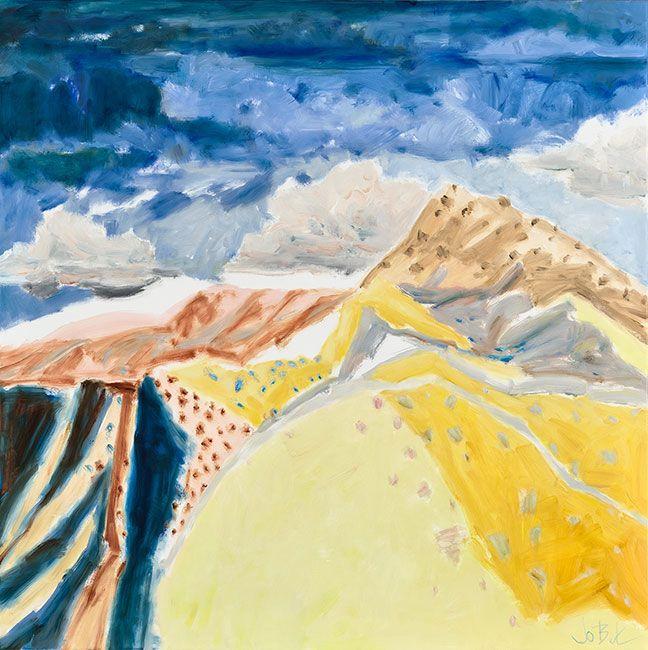 © Jo Bertini ~ Pulpit Rock ~ 2016 oil on canvas at Olsen Irwin Gallery Sydney Australia