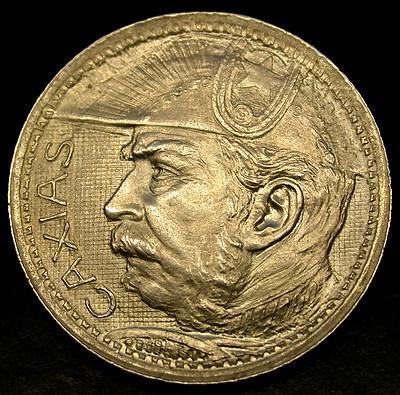 1935 BRAZIL 2000 Reis HIGH GRADE SILVER Duque De Caxias