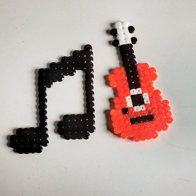 Music hama beads by parl_artist More