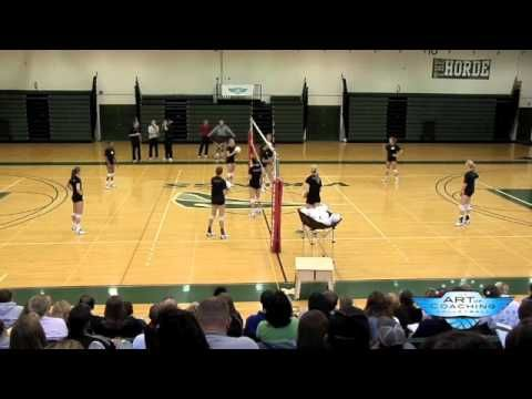 W Drill - Volleyball (I really like the over the net variation)