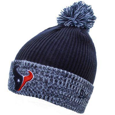 Houston Texans New Era Flurry Frost Knit Hat - Navy Blue