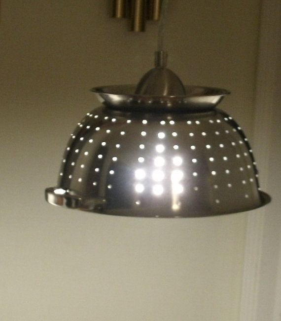 Unusual Kitchen Lighting: Best 25+ Colander Light Ideas On Pinterest