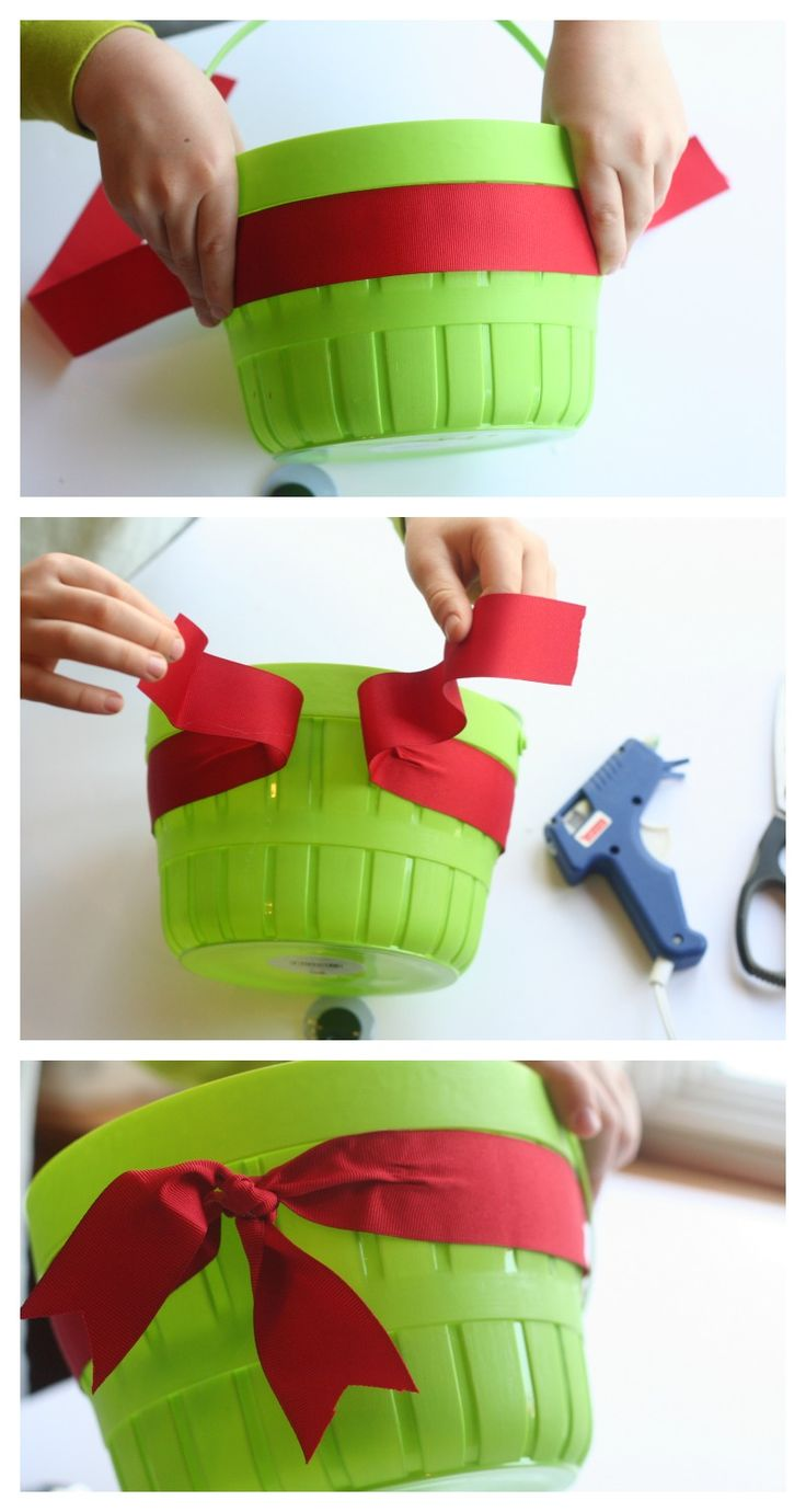 How to Make TMNT Baskets