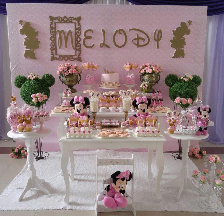 La petit boutique pastry aria 39 s 1st birthday festa minnie festa ideias para festas - La petite boutique de minnie ...