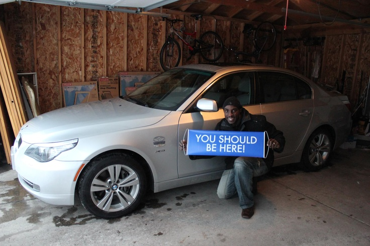 """Kelvin """"KP"""" Phipps and his wife Juanita from Illinois qualified for their bimmer! Love this pic. #WorldVentures #WingsWheels"""