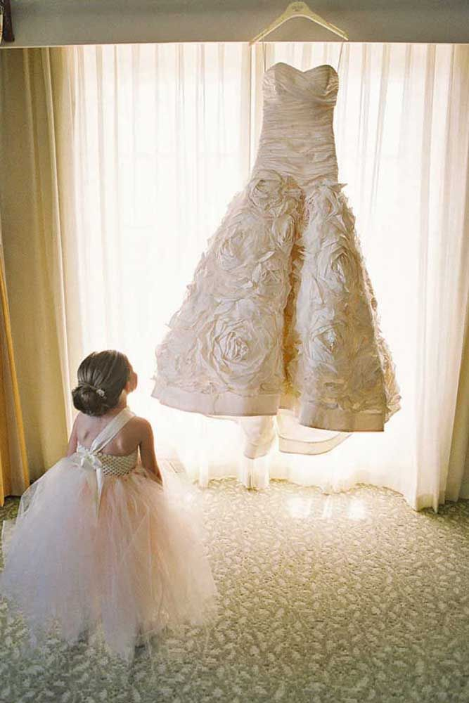 Must-See Flower Girl Photos ❤ See more: http://www.weddingforward.com/flower-girl-photos/ #weddings