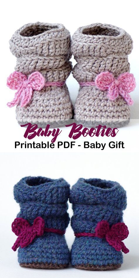 Make your own cute baby boots. baby shoes crochet patterns - baby booties - baby gift - crochet pattern pdf - amorecraftylife.com ...