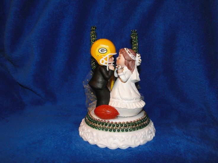 green bay packers wedding cake topper 64 best gb wedding images on packers wedding 14965