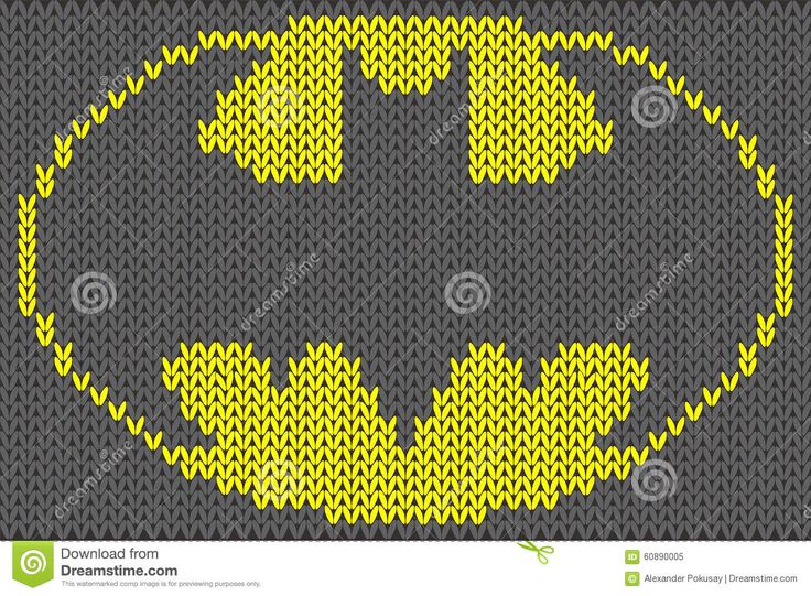 Batman Cushion Knitting Pattern : 1000+ images about Super Heroes on Pinterest Stitching, Perler bead pattern...