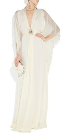 Matthew Williamson Swarovski crystal-embellished silk-chiffon gown $2,700