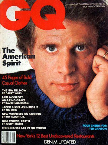 GQ-SEPTEMBER 1984-TED DANSON-JON ERIC HEXUM-80'S MOVERS-JACKIE BISSET-YVES MONTA