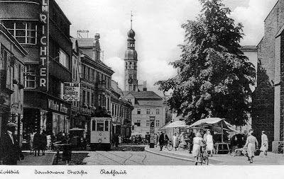 Spremberger Str., Postkarte 1940er