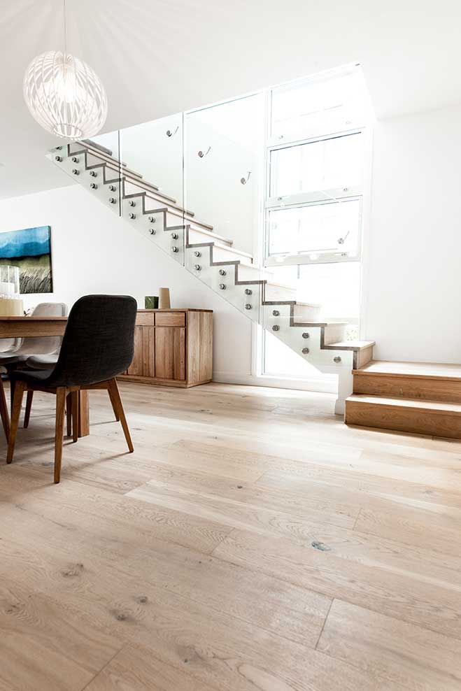 Floors from 'The Block' | Godfrey Hirst New Zealand | Maree and James | Get the look with Regal Oak in Doulton #godfreyhirstnz #theblock #theblocknz #timberflooring #oak #floors #flooring #timber