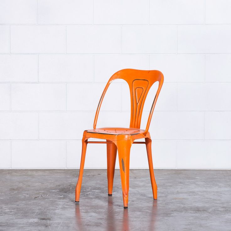 Max Cafe Dining Chairs - ORANGE | $99.00