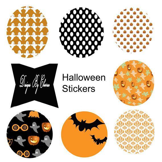 #halloweenparty #halloweenstickers #printablestickers #halloweenlabels