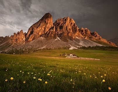 "Check out new work on my @Behance portfolio: ""Summer Dolomites""…"