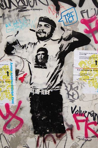 "stencil art.   Made by streetartist ""Dolk"" - #streetart #aryz - Click for more streetart"