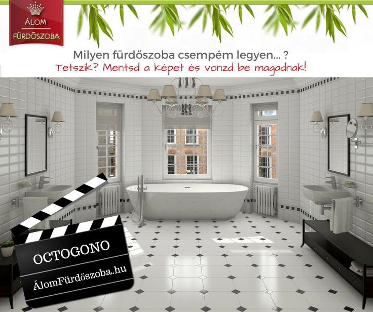 ♥ OCTOGONO kollekció ♥  Klasszikus eleganciát varázsolhatsz fürdőbe, előszobába, nappaliba Octogono padlólapokkal☺ Készletről szállítjuk ☺ Bemutatótermünkben megtekinthető. További info, akciós árak itt: http://alomfurdoszobak.hu/hu/846-vives-zola