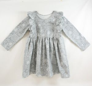 Sewing with Knits - Millie Kids Dress Tutorial