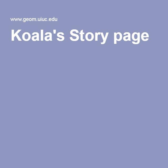 Koala's Story page