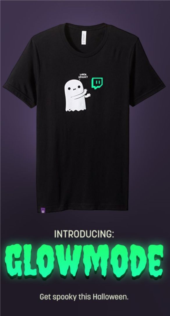 Official Twitch Halloween t-shirt https://www.amazon.com/Halloween-Unisex-Tee-Crew-Medium/dp/B074ND5VJ5/ref=as_li_ss_tl?ref=ast_p_ep&linkCode=ll1&tag=mypintrest-20&linkId=a0632b387864f7fc28208dd0cfde67f3