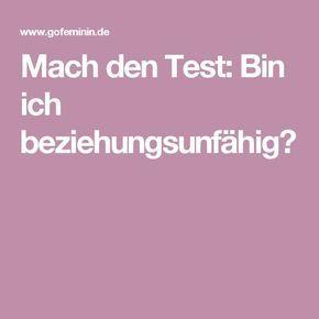 Mach den Test: Bin ich beziehungsunfähig?