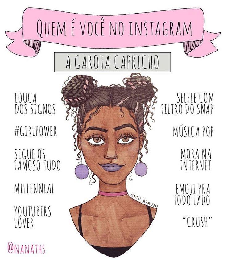 """7,969 Likes, 706 Comments - Nath Araújo (@nanaths) on Instagram: """"Quase chorei de emossaum quando a @capricho me convidou pra desenhar a GAROTA CAPRICHO pra série…"""""""