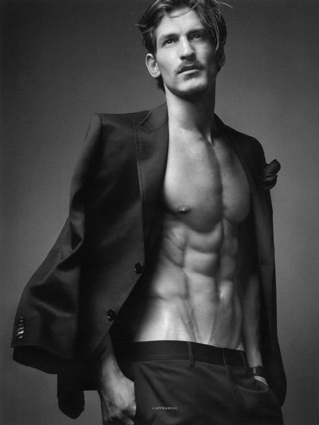 Jarrod Scott covers Vogue Hommes International