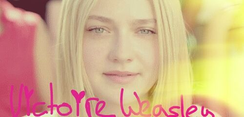 Victoire Weasley,daughter of Fleur &Bill Weasley ,Ravenclaw (Dakota Fanning )