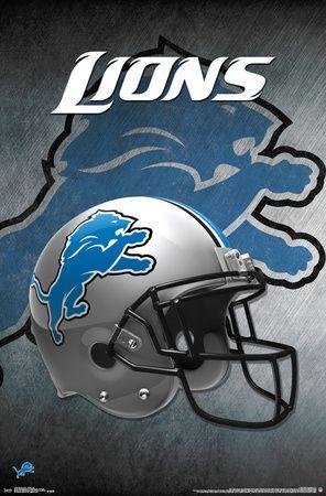 NFL: Detroit Lions - Helmet Logo
