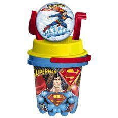 Superman Bucket & Spade 5 Piece Set